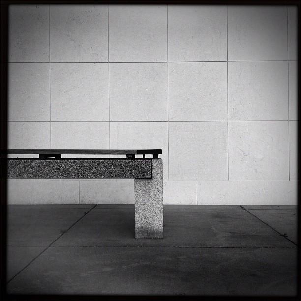 just a bench